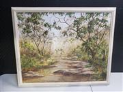 Sale 8958 - Lot 2069 - V. Gregory At Peace oil on board, 69 x 84cm (frame)