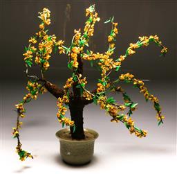 Sale 9121 - Lot 1022 - Glass Bonsai tree (h:70cm)