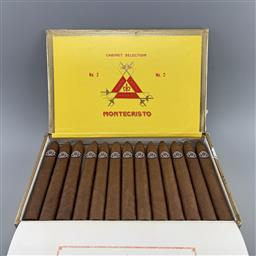 Sale 9165 - Lot 602 - Montecristo No.2 Cuban Cigars - box of 25 cigars, stamped November 2016