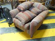 Sale 7943A - Lot 1532 - Club Armchair With Throw Cushions