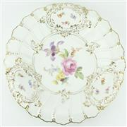 Sale 8332 - Lot 72 - Meissen 20th Century Prunkteller Dish