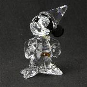Sale 8412B - Lot 93 - Swarovski Crystal Mickey Mouse Sorcerer Mickey with Box (Disney Showcase Collection)- Height 5.9cm