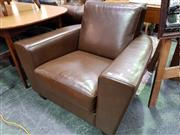 Sale 8462 - Lot 1064 - Leather Armchair