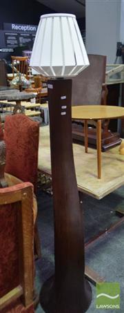 Sale 8542 - Lot 1038 - Modern Timber Standard Lamp