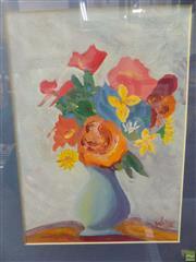 Sale 8557 - Lot 2029 - Leslie Walton (1935 - 2013) - Still Life, 1999 26.5 x 19.5cm (frame size: 42.5 x 34cm)