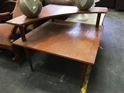 Sale 8676 - Lot 1021 - Retro Corner Coffee Table