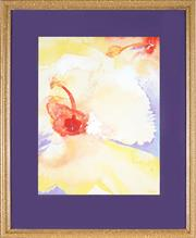 Sale 8819 - Lot 2012 - Denise Barry - Hibiscus I 39 x 28.5cm