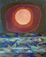 Sale 8808A - Lot 5007 - Dora Chapman (1911 - 1995) - New Sun 38 x 30.5cm