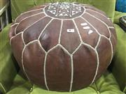 Sale 8822 - Lot 1791 - Leather Covered Ottoman