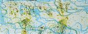 Sale 8947 - Lot 533 - John Olsen (1928 - ) - Tropical Lily Pond 2006 59 x 137 cm (frame: 65 x 143 x 6 cm)