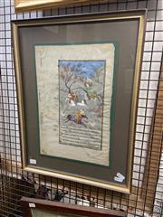 Sale 8924 - Lot 2033 - Indo-Persian School Hunting Scene gouache on paper, 51 x 38cm (frame)