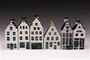 Sale 9078 - Lot 198 - A Set of 6 KLM Miniatures