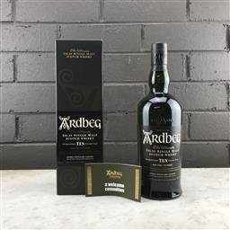 Sale 9089W - Lot 95 - Ardbeg Distillery Ten 10YO Islay Single Malt Scotch Whisky - 46% ABV, 700ml in box