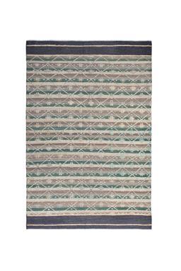 Sale 9124C - Lot 48 - Afghan Bohemia Rug ,195x295CM, Handspun Wool & Hemp