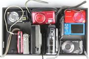 Sale 8436 - Lot 100 - Digital Cameras (sold as found, not tested)