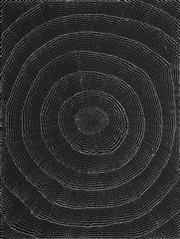 Sale 8624 - Lot 521 - Lily Kelly Napangardi (1948 - ) - Rockholes 132 x 99cm
