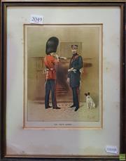 Sale 8595 - Lot 2049 - The Scots Guard, Antique Print, 23 x 17cm