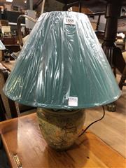 Sale 8822 - Lot 1888 - Pair of Ceramic Elephant Desing Table Lamps (3355)
