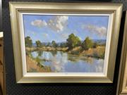Sale 8914 - Lot 2091 - Ross Psakis Landscapeoil on canvas on board, 56 x 66 cm, signed lower right