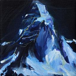 Sale 9249A - Lot 5053 - IRENE HANENBERGH (1966 - ) Laudanum De Breeder oil on canvas 10 x 10 cm .