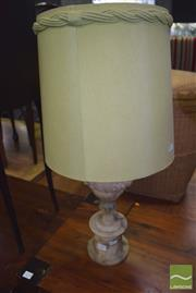 Sale 8390 - Lot 1209 - Marble Base Table Lamp