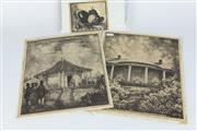 Sale 8396 - Lot 81 - Hardy Wilson Lithograph & a Lionel Lindsay Etching