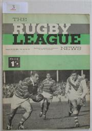 Sale 8404S - Lot 3 - 1963 Rugby League News Grand Final Programme, Aug 24 (Vol.44, No.25), St George v Wests