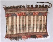 Sale 8445K - Lot 76 - Afghan Tribal Torbah Bag , 86x45cm, Handwoven by desert nomads in the northern mountainous regions of Afghanistan. All wool heavy du...