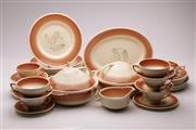 Sale 9078 - Lot 27 - Susie Cooper Burslem British Patent dinner wares
