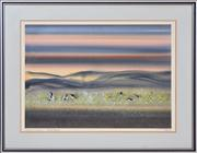 Sale 8344 - Lot 524 - Tom Gleghorn (1925 - ) - Luminous Swamp - Bool Lagoon 48 x 67cm