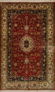 Sale 8439C - Lot 51 - Kashmiri Silk 143cm x 93cm