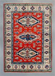 Sale 8472C - Lot 42 - Afghan Kazak 145cm x 100cm