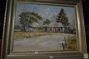 Sale 8487 - Lot 2080 - Erik Luk - Old Home, St Agnes 45 x 60cm