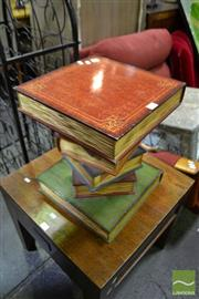 Sale 8489 - Lot 1076 - A Contemporary Stack of Faux Books