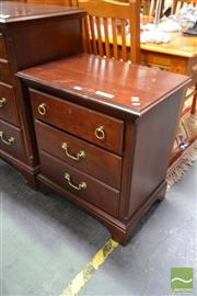 Sale 8515 - Lot 1034 - Pair of Drexel Bedsides with Three Drawers (062220, 063353)