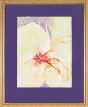 Sale 8807 - Lot 2012 - Denise Barry - Hibiscus II 39 x 28.5cm