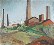 Sale 8847 - Lot 527 - Desiderius Orban (1884 - 1986) - Factory 37 x 45cm
