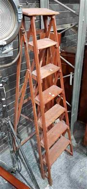 Sale 8930 - Lot 1081 - Set of Vintage Library Steps