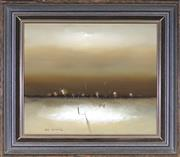 Sale 9011 - Lot 2029 - Eris Fleming (1943 - ) - Five Miles From Graman 27 x 33 cm (frame: 44 x 38 x 3 cm)