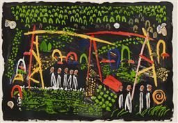Sale 9193A - Lot 5027 - COLIN LANCELEY (1938 - 2015) (3 works)