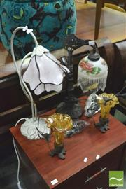 Sale 8392 - Lot 1075 - Collection of 8 Table Lamps