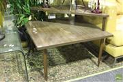 Sale 8499 - Lot 1023 - Retro Veneered Corner Coffee Table
