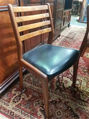Sale 8661 - Lot 1043 - Set of 4 Quality Vanson Teak Chairs