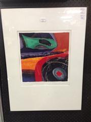 Sale 8663 - Lot 2059 - Ulli Brunnschweiler (1945 - ) - Soundings II, 1995 (frame: 68.5 x 51.5cm) -