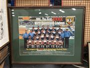 Sale 8752 - Lot 2072 - Framed North Queensland Cowboys Poster