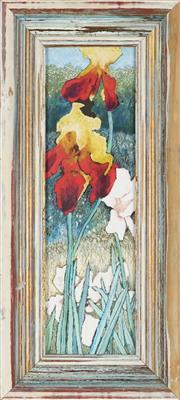 Sale 8807 - Lot 2013 - Denise Barry - Iris 34.5 x 13cm