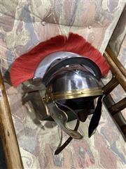 Sale 8876 - Lot 1074 - Centurion Style Helmet