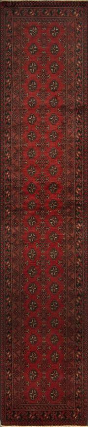 Sale 8321C - Lot 32 - Afghan Turkman 380cm x 80cm RRP $1200