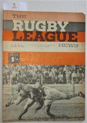Sale 8404S - Lot 5 - 1965 Rugby League News Grand Final Programme, Sept 18 (Vol.46, No.31), St George v Souths