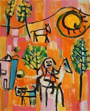 Sale 8504 - Lot 599 - Judi Singleton (1963 - ) - Untitled (Pony Ride) 56 x 46cm